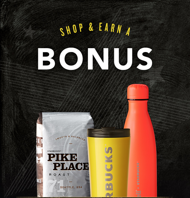SHOP & EARN A BONUS